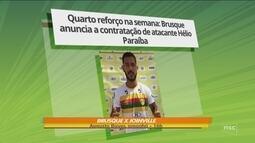 Brusque anuncia mais quatro reforços para temporada