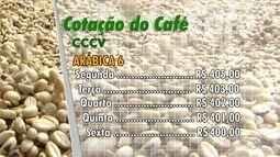 Confira a cotação de café no ES