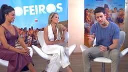 Leonardo Portiolli bateu um papo com o elenco do filme 'Os Farofeiros'