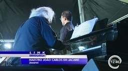 Jacareí recebeu uma apresentação emocionante do maestro João Carlos Martins