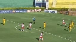 Mirassol vence RB Brasil em partida válida pela Série A2 do Campeonato Paulista