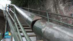 Escadaria que liga o Vale do Canela à Federação é interditada após denúncia no BMD