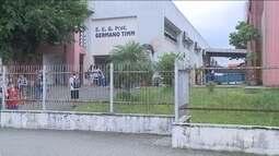 Alunos são dispensados por causa do calor em escola de Joinville