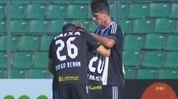 Chapecoense e Figueirense vencem e se aproximam da final do Estadual