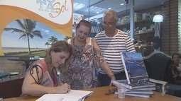 Rosana Valle lança segundo livro do Rota do Sol em Registro
