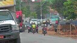 Obra no município do Crato causa transtornos no trânsito