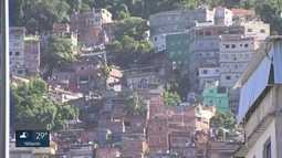 Sábado violento na favela da Rocinha