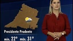Confira a previsão do tempo no Oeste Paulista