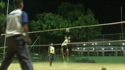 Duplas afiam treinamentos para competição Sub-24 de Vôlei de Praia