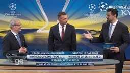 Sorteio define Bayern x Real Madrid e Liverpool x Roma nas semifinais da Liga dos Campeões