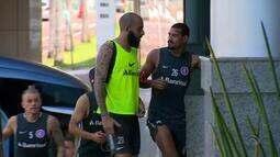 Inter faz treino fechado em Salvador antes de encarar o Vitória pela Copa do Brasil