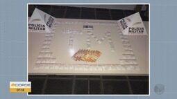 Homem é preso com 106 papelotes de cocaína em Ouro Fino, MG