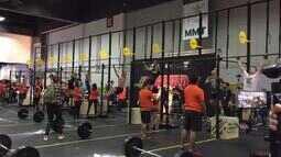 Competições estão a todo vapor em feira fitness em São Paulo