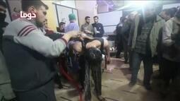 Inspetores da Opaq visitam local de suposto ataque químico em Douma, na Síria