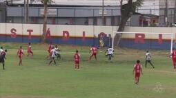 Baré perde para o Manaus FC no Estádio Ribeirão pela 1ª rodada da Série D