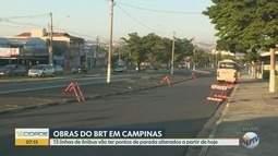 BRT Ouro Verde: linhas de ônibus terão alterações a partir das 10h