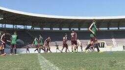 Em busca da primeira vitória, Ferroviária treina forte para segunda partida no Brasileirão