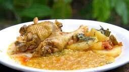 Confira a receita de galinha caipira de Tracuateua