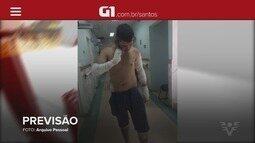 G1 em 1 Minuto: Filho sofre acidente horas depois de receber alerta da mãe
