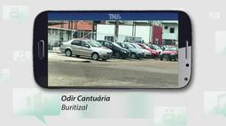 Tô na Rede: lojas de veículos ocupam calçadas irregularmente