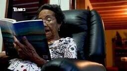 Especial centenários: Em Araxá, Dona Célida conta a receita da jovialidade e disposição