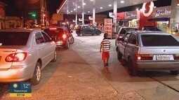 Greve dos caminhoneiros eleva preço do etanol em Ribeirão Preto, SP