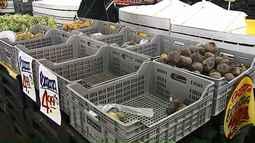 Começa a faltar frutas e verduras nos supermercados de Ponta Grossa