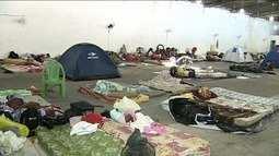 Secretária da Assistência Social de Aracaju fala sobre famílias instaladas em galpão