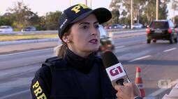 Balanço preliminar da PRF em Brasília aponta 19 acidentes em rodovias, sendo 4 fatais