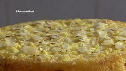 Parte 3: Veja como preparar bolo de macaxeira com castanha e doce de leite