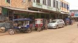 Porto boliviano está fechado há quase um mês. Guajará-Mirim e Guayaramerin vivem impasse