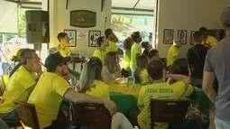 Veja como os torcedores da região de Itapetininga (SP) acompanharam a estreia do Brasil