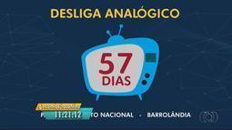 Faltam 57 dias para o desligamento do sinal analógico em cidades do Tocantins