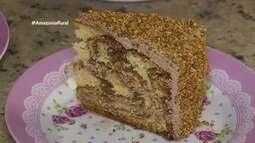 Parte 3: Veja a receita e como fazer o tradicional bolo Moca