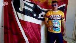 Torcedores do Ferroviário incentivam time na luta pelo acesso à Série C do Brasileirão