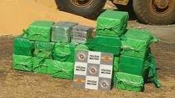 Polícia apreende carga de droga escondida dentro de caminhão em Votuporanga