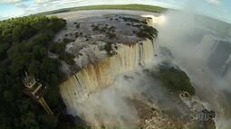 Cataratas do Iguaçu já foi cenário de roteiros nas telonas