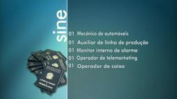Veja as vagas que o Sine Acre oferta para esta segunda-feira(16) em Rio Branco