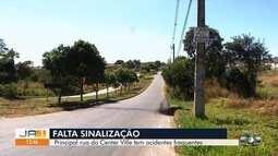 Moradores reclamam da falta de sinalização no Setor Center Ville, em Goiânia