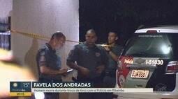 Homem morre e policial militar é baleado durante uma troca de tiros em Ribeirão