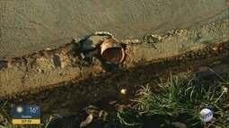 Moradores do Jardim Palmares reclamam de vazamento de água limpa