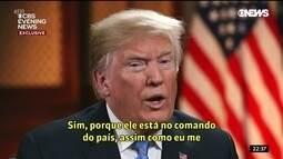 Trump surpreende e convida Putin para visita aos Estados Unidos