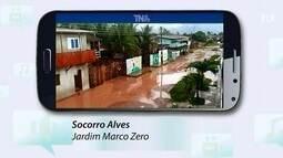 Tô na Rede: condições da rua Raimundo Pereira no bairro Jardim Marco Zero, no AP