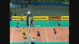 Após derrota em 1º amistoso, vôlei do Brasil recebe os EUA para dois jogos em Uberaba