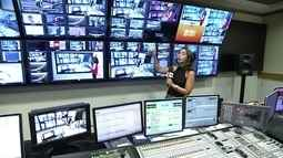 GE 40 anos: veja como funciona o Controle, onde se coordena toda a transmissão do programa