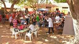 Moradores do bairro Livramento participaram da terceira etapa do projeto 'Viva a Vida'