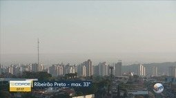 Confira a previsão do tempo desta quarta-feira (15) em Ribeirão Preto