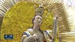 Fi[eis celebram a fé em Nossa Senhora da Boa Viagem, padroeira de Belo Horizonte