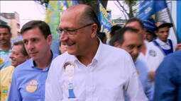 Alckmin depõe em inquérito por suspeita de caixa dois em 2010 e 2014