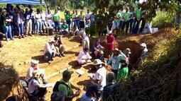 Parte 1: Pesquisadores de várias partes do mundo estudam o solo de Rondônia